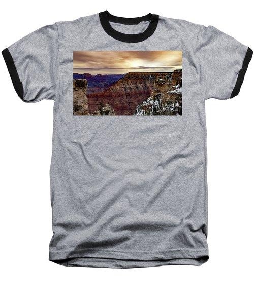 Changing Of The Seasons Baseball T-Shirt