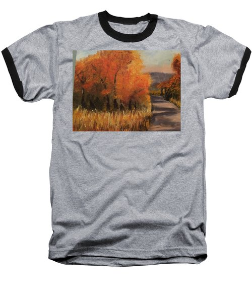 Changing Season Baseball T-Shirt by Sharon Schultz