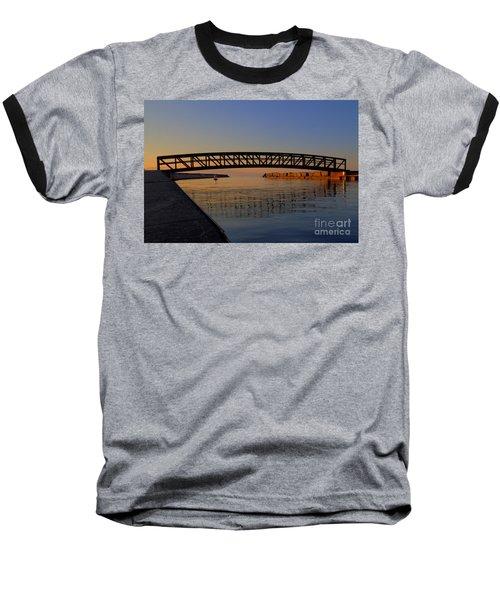 Channel Sunset Baseball T-Shirt