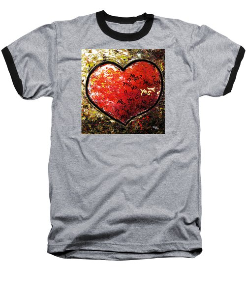 Chaos In Heart Baseball T-Shirt