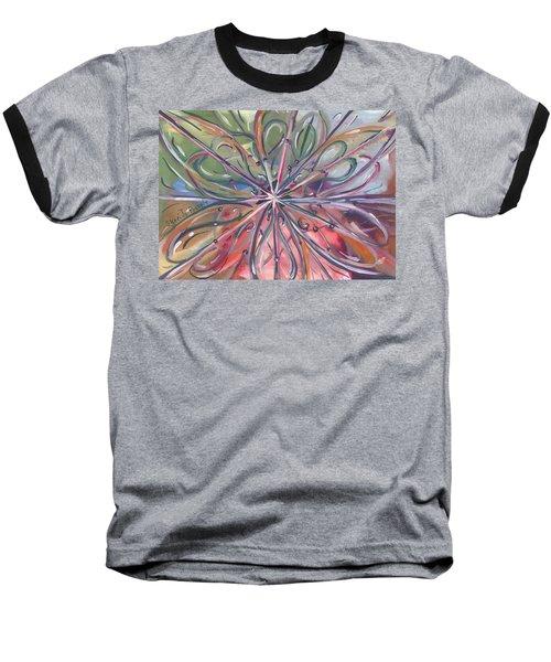 Chaotic Beauty Baseball T-Shirt