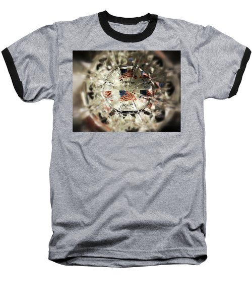 Baseball T-Shirt featuring the photograph Chaotic Freedom by Robert Knight