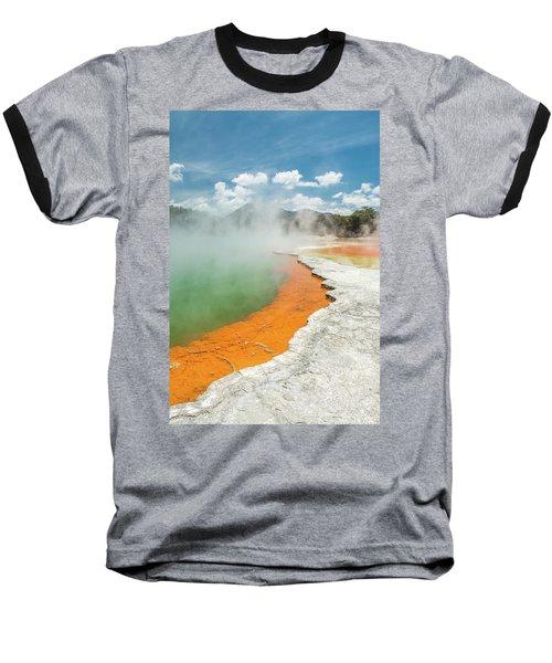Champagne Pool Baseball T-Shirt