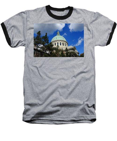 Chapel - Us Naval Academy 3 Baseball T-Shirt