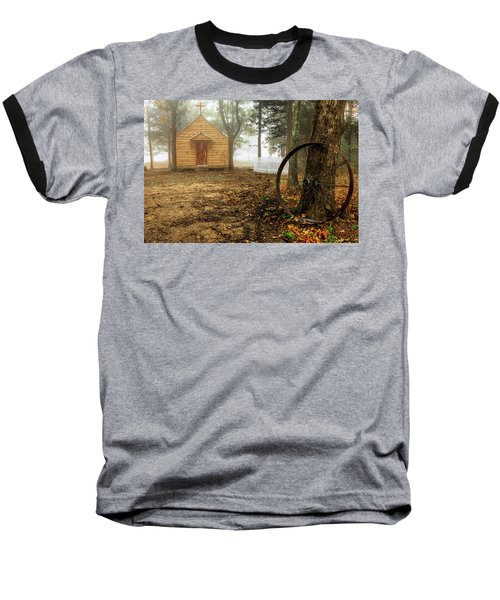 Chapel In The Woods 1 Baseball T-Shirt