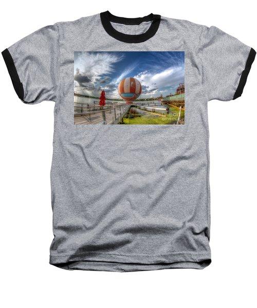 Characters In Flight Baseball T-Shirt