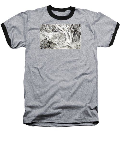 Charcoal Copse Baseball T-Shirt