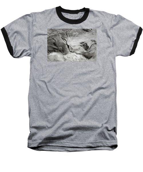 Charcoal Tree Baseball T-Shirt