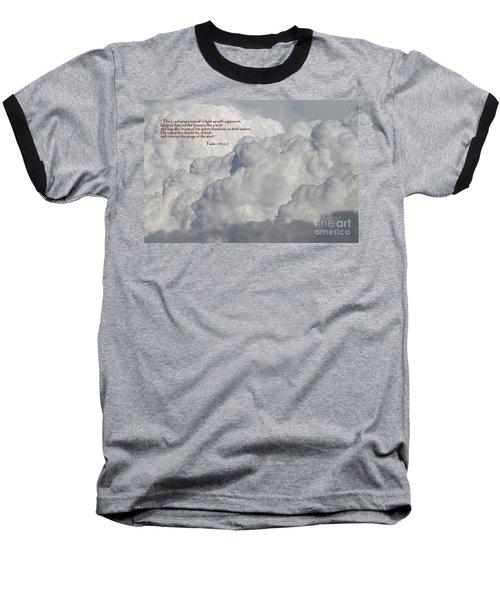 Chariot Clouds Baseball T-Shirt