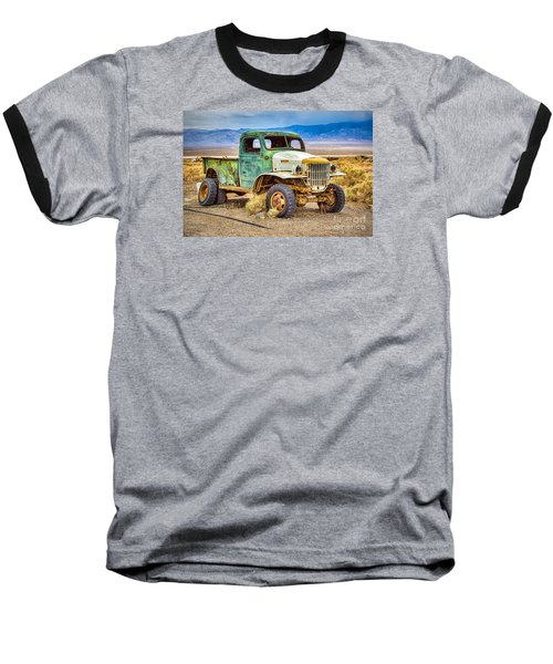 The Charles Manson Forgotten Getaway Truck Baseball T-Shirt
