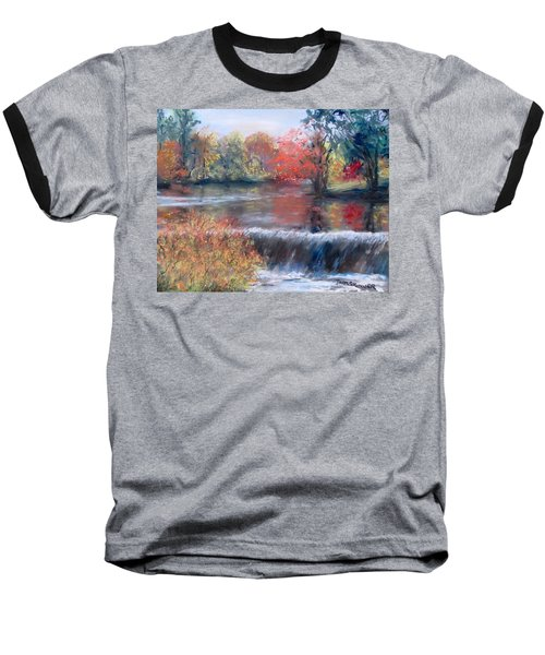 Charles River, Natick Baseball T-Shirt by Jack Skinner