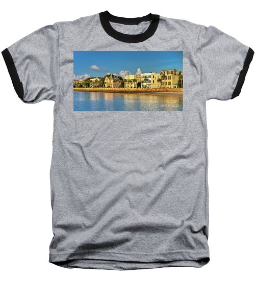Charleston Battery Row Of Homes  Baseball T-Shirt