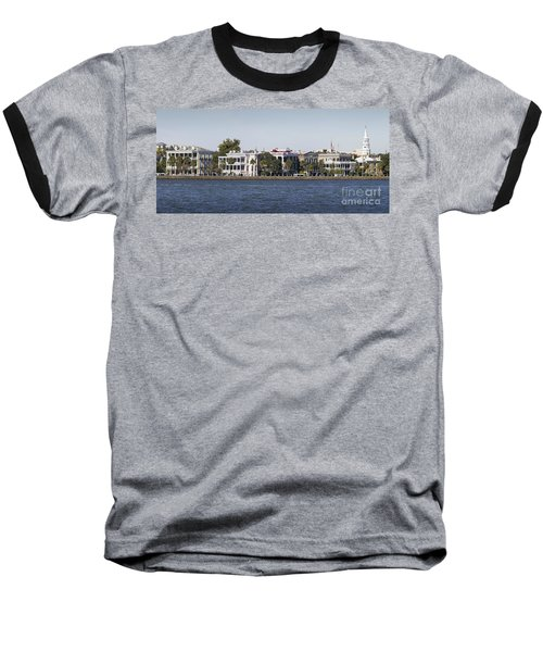 Charleston Battery Row Panorama 2 Baseball T-Shirt