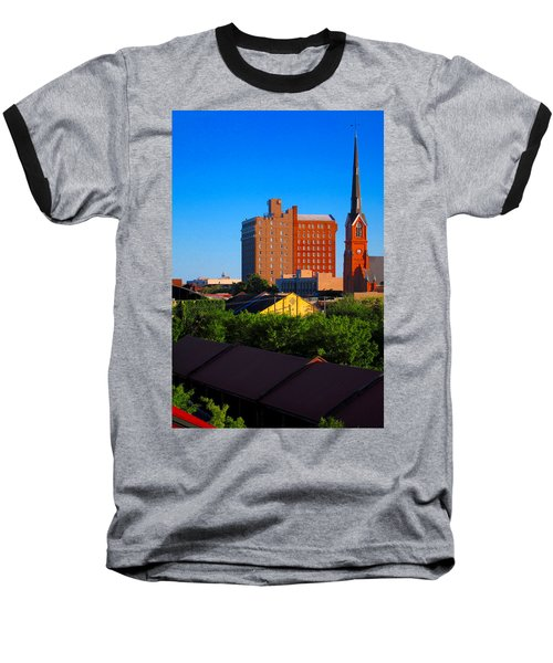 Charleston Buildings Baseball T-Shirt