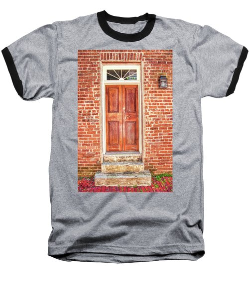 Charleston Doors 1 Baseball T-Shirt