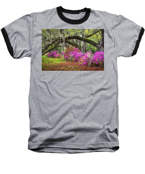 Charleston South Carolina Spring Flowers Lowcountry Landscape Photography Baseball T-Shirt