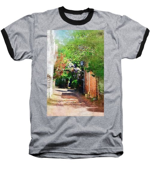 Baseball T-Shirt featuring the photograph Charlestons Alley by Donna Bentley