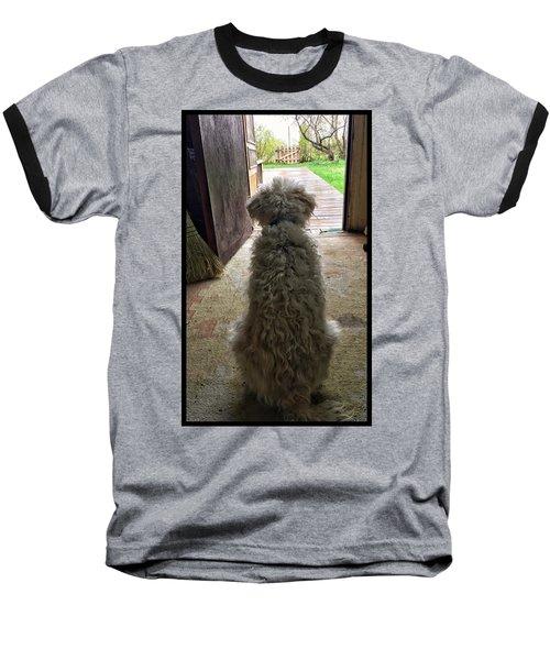Charlie Dog Baseball T-Shirt