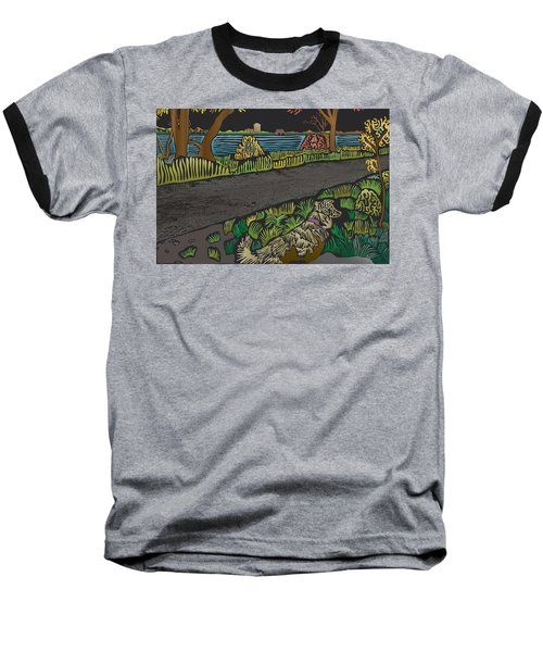 Charlie On Path Baseball T-Shirt