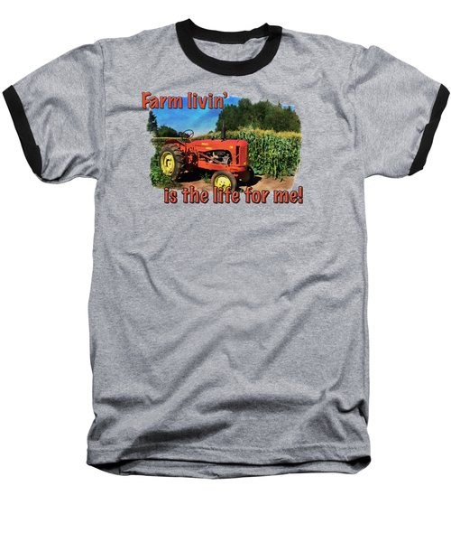 Charlie The Tractor Baseball T-Shirt