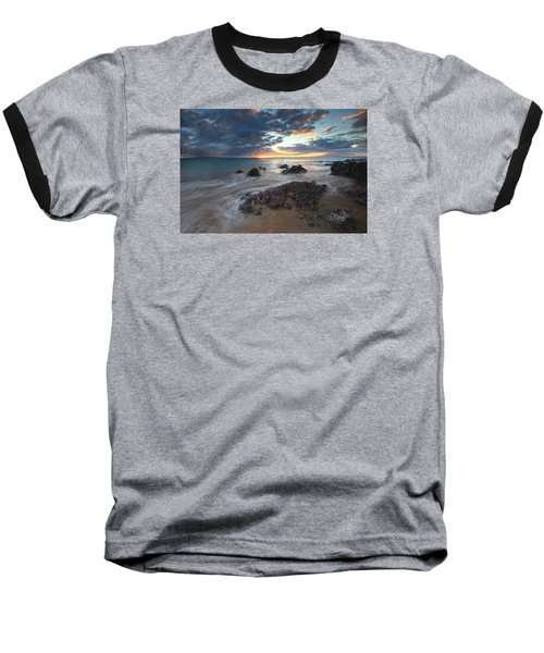Charlie Young Sunset Baseball T-Shirt by James Roemmling