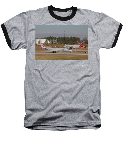 Charlotte Douglas International Airport 21 Baseball T-Shirt