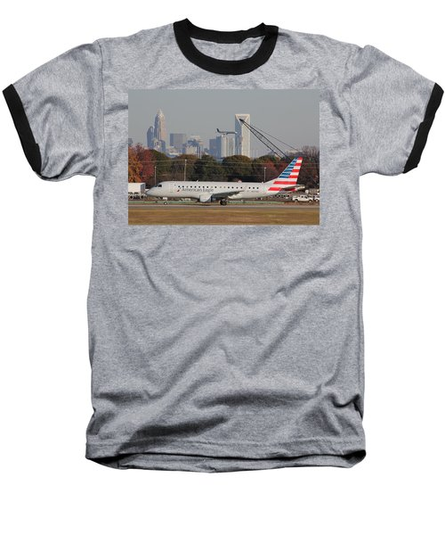 Charlotte Douglas International Airport 22 Baseball T-Shirt