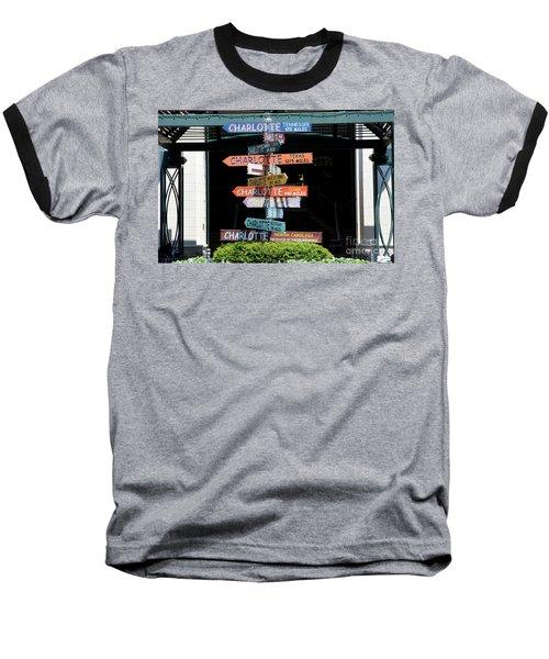 Charlotte Signs Baseball T-Shirt