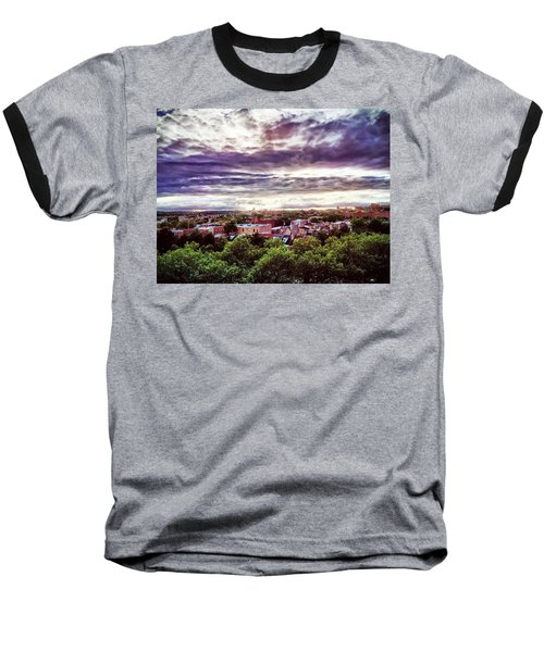 Charm City Sunset Baseball T-Shirt
