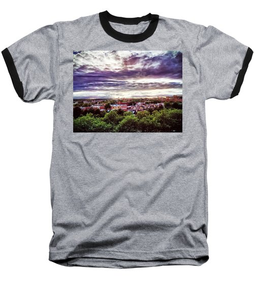 Charm City Sunset Baseball T-Shirt
