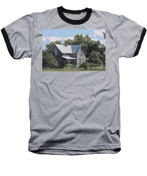 Charming Country Home Baseball T-Shirt