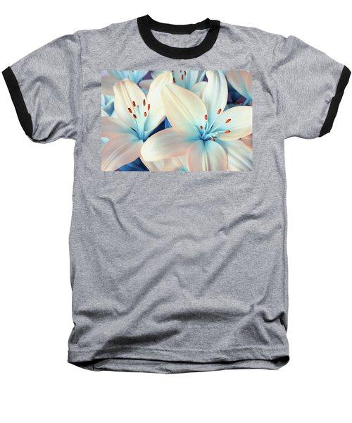 Charming Elegance Baseball T-Shirt by Iryna Goodall