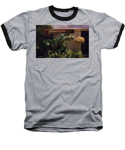 Charming Whimsy Baseball T-Shirt by RC deWinter