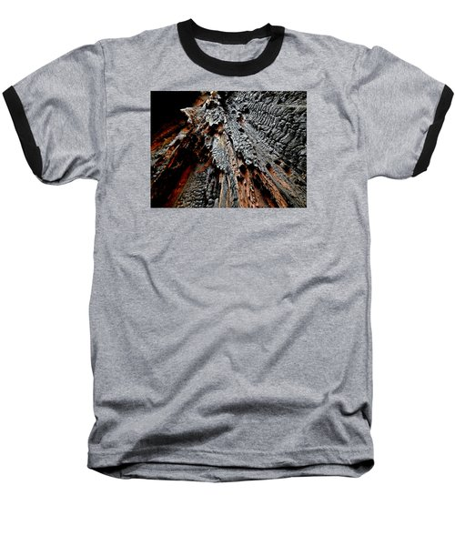 Charred Cedar Baseball T-Shirt