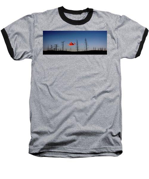 Charred Sunset Baseball T-Shirt