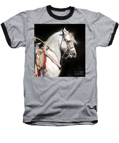 Charro Stallion Baseball T-Shirt