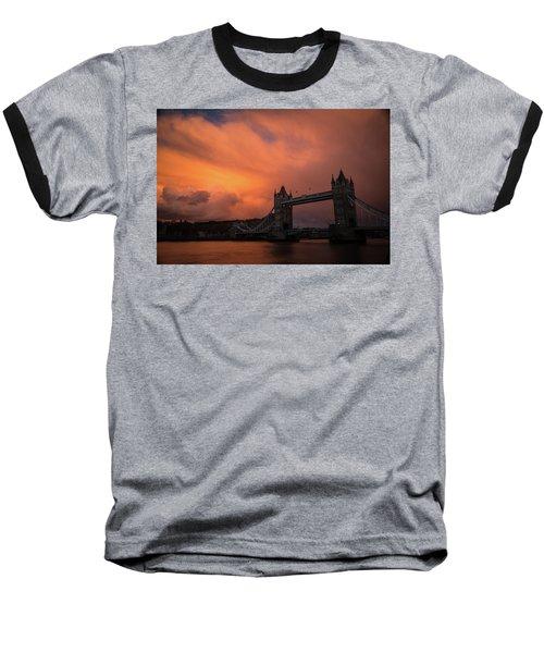 Chasing Clouds Baseball T-Shirt