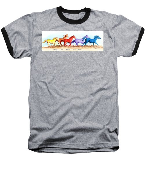 Chasing My Hopes And Dreams Baseball T-Shirt