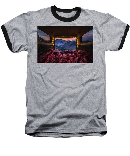 Chasing Sunset Baseball T-Shirt