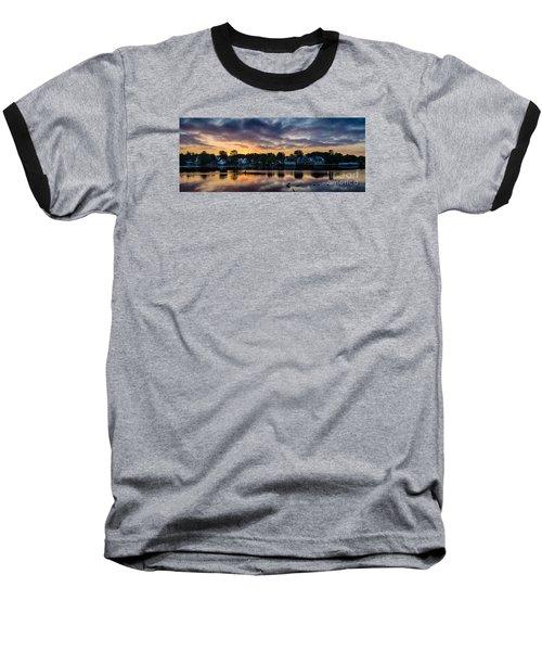 Chasing The Blues Away Baseball T-Shirt
