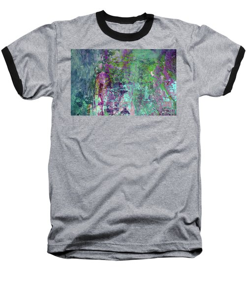 Chasing The Dream - Contemporary Colorful Abstract Art Painting Baseball T-Shirt