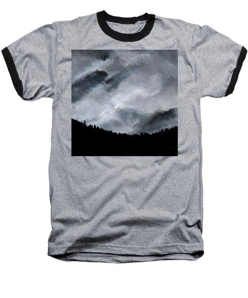 Chasing The Storm Baseball T-Shirt