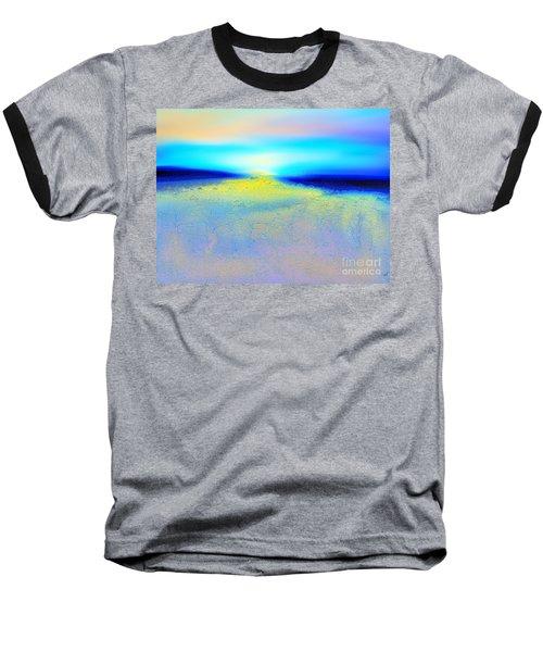Chasing The Sun  Baseball T-Shirt by Yul Olaivar