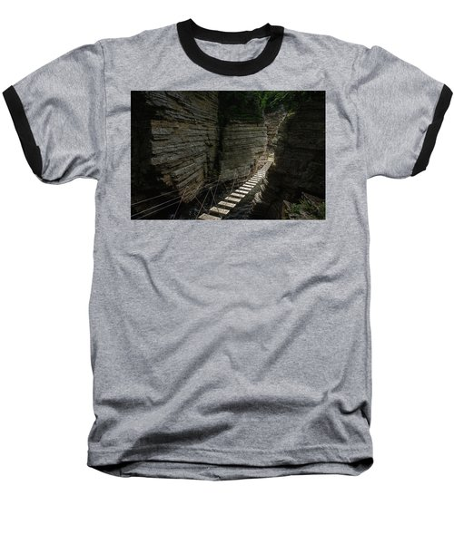 Chasm Bridge Baseball T-Shirt