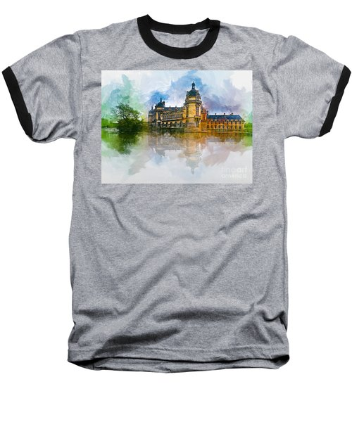 Chateau De Chantilly Baseball T-Shirt