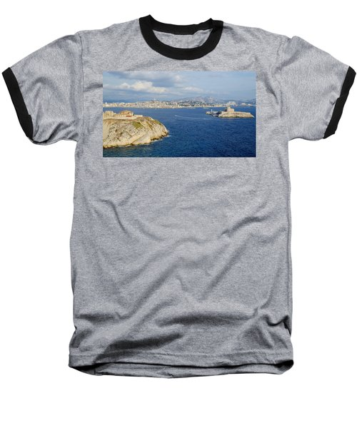 Chateau D'if-island Baseball T-Shirt
