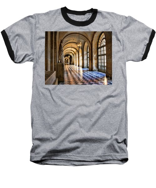 Chateau Versailles Interior Hallway Architecture  Baseball T-Shirt