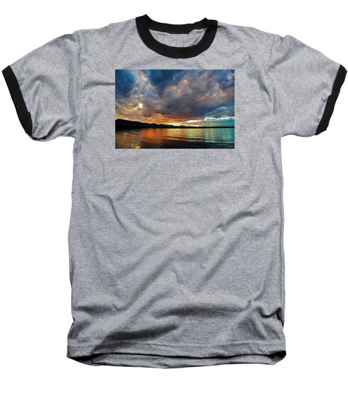 Chatfield Technicolor Sunset Baseball T-Shirt