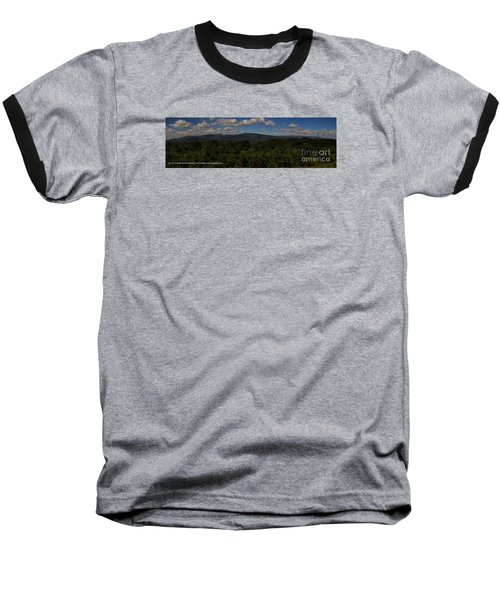 Chattahoochee Forest Overlook Baseball T-Shirt