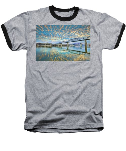 Chattanooga Has Crazy Clouds Baseball T-Shirt